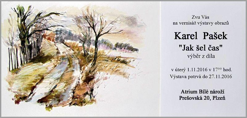 Výstava Karla Paška